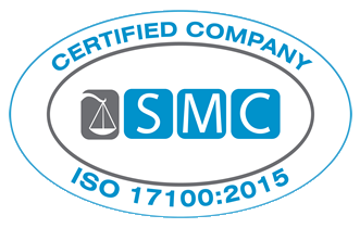 iso 17100 2015 certified by SCM